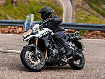 Quick fang: Triumph Tiger Explorer 1200
