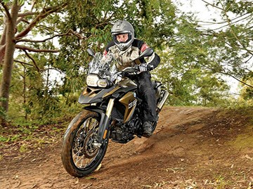 BMW F 800 GS motorcycle review