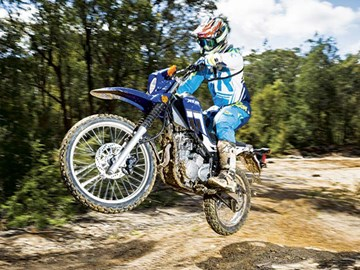 Adventure riding: Yamaha XT250