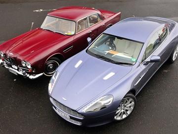 1963 Lagonda Rapide vs 2010 Aston Martin Rapide review
