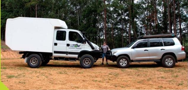 iveco daily vs LC 200 series