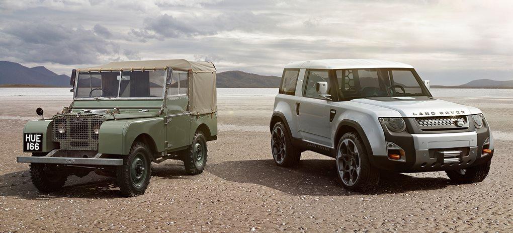 Land Rover History