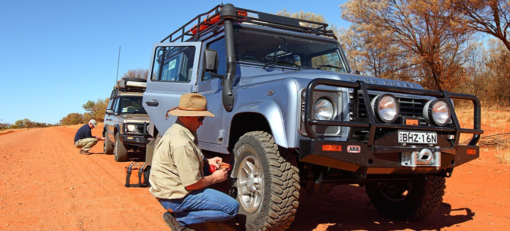 Off-road tyre guide