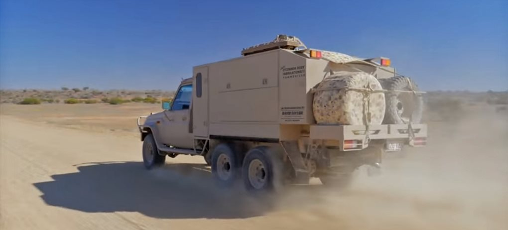 APV's Long Range Patrol Vehicle tested in the Simpson