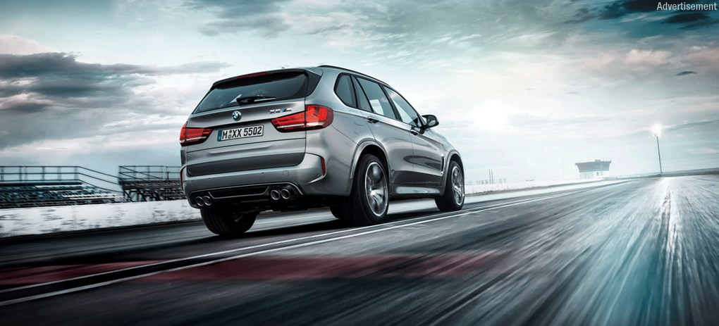 TAKE THE LEAD. THE ALL NEW BMW X5 M