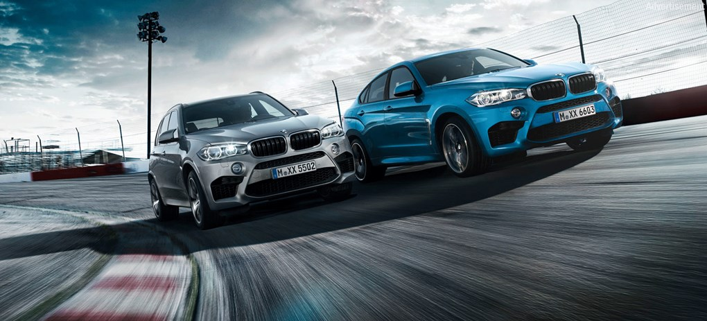 SEE THE ALL NEW BMW X5 M & X6 M IN ACTION