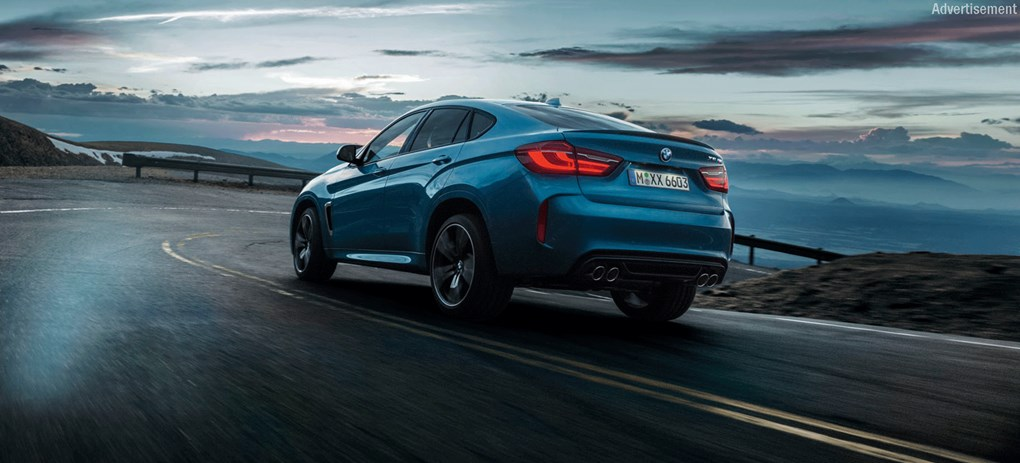 TAKE THE LEAD. THE ALL NEW BMW X6 M