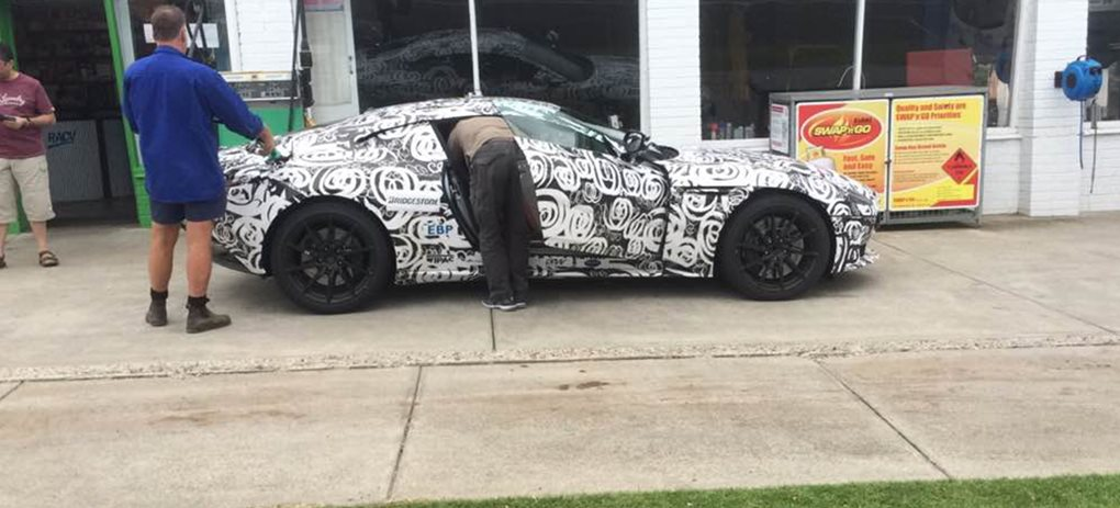 Aston Martin DB11 prototype spied in Melbourne