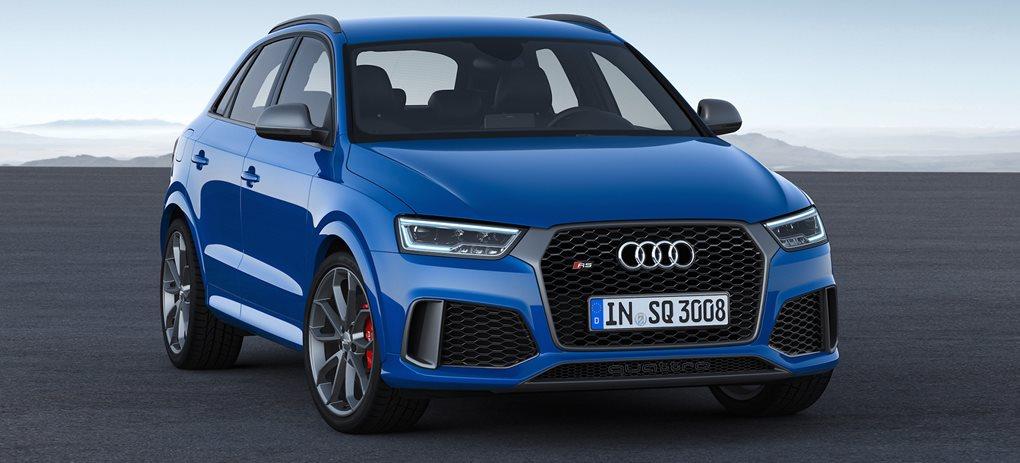 Audi RS Q3 Performance revealed
