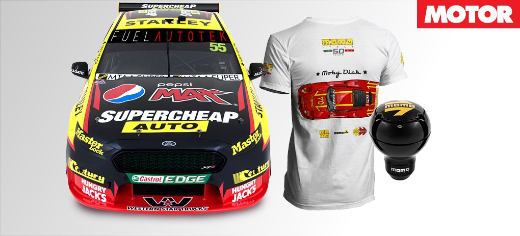 Win a hot lap in a V8 supercar!