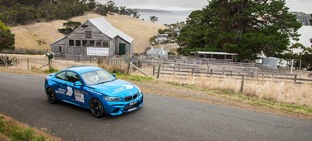 BMW M2 at Targa Tasmania
