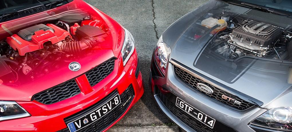 HSV GTS vs FPV GT-F dyno power kW