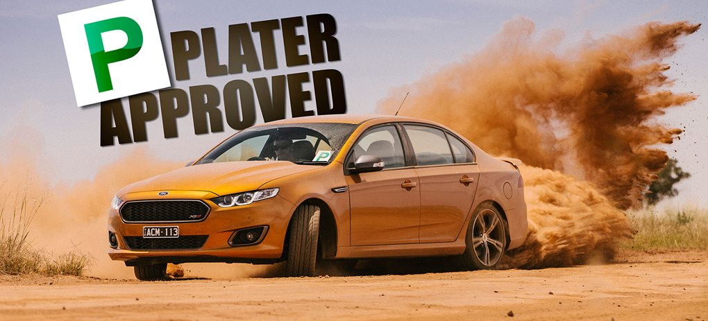 Ford Falcon XR8 p-plater approved