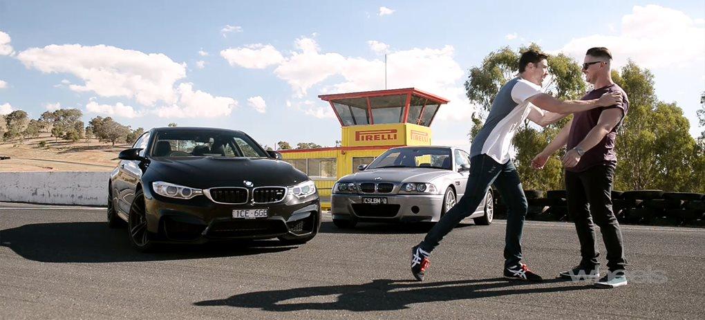 M3 CSL vs BMW M4