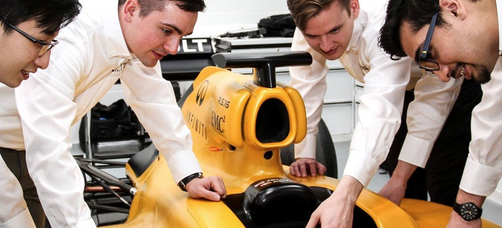 Infiniti F1 search for Australia's next top engineer