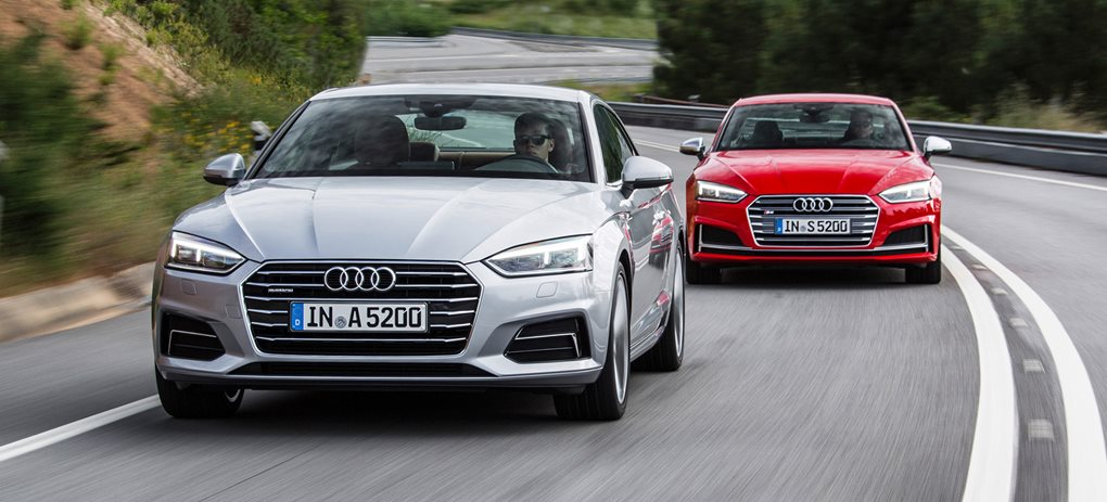2017 Audi A5 and S5 Coupe review
