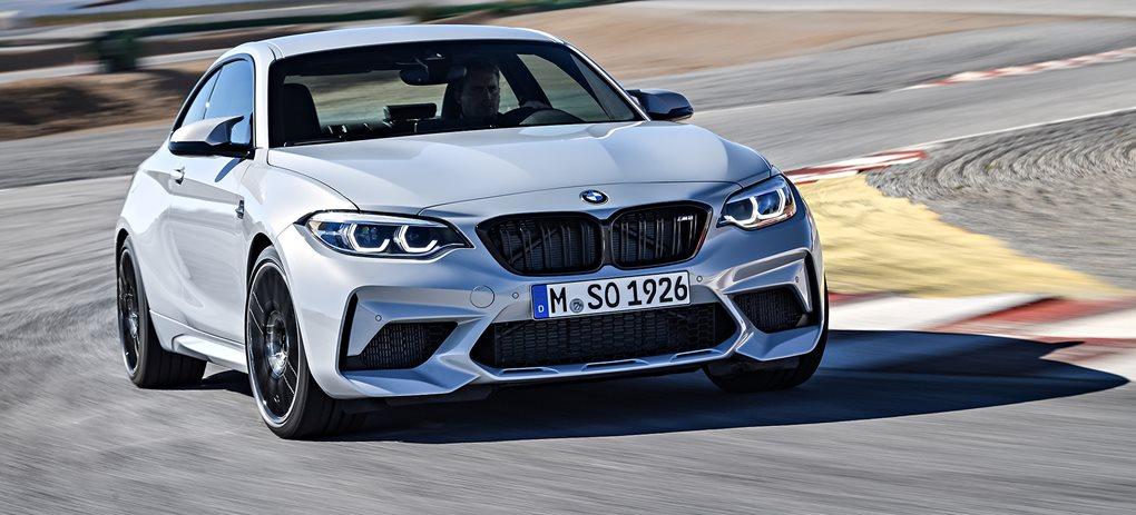bmw m2 competition tracking