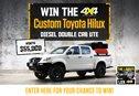Win a Toyota Hilux!