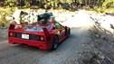 Ferrari F40 camping Japan