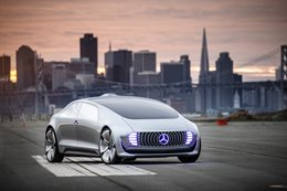 Mercedes-Benz F015 review test drive