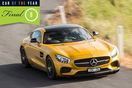 2016 Wheels Car of the Year finalist: Mercedes-AMG GT S