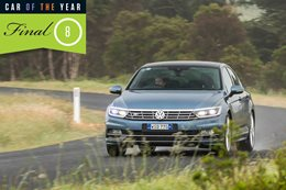 2016 Wheels Car of the Year finalist Volkswagen Passat