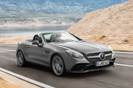 2016 Mercedes-AMG SLC43 review