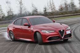 Alfa Romeo Giulia Quadrifoglio sedan