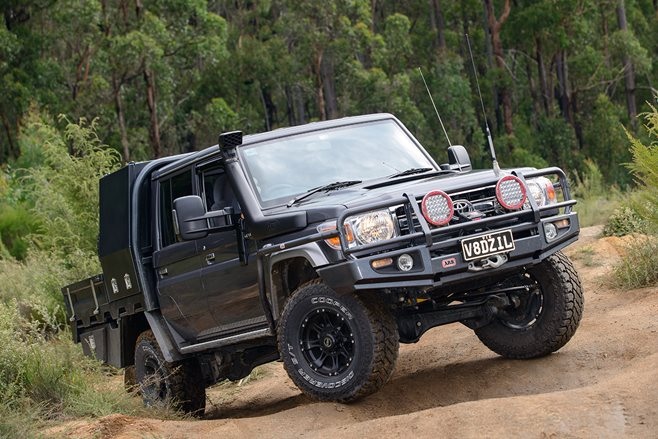 Custom 4x4 Toyota 79 Series Land Cruiser 4x4 Australia