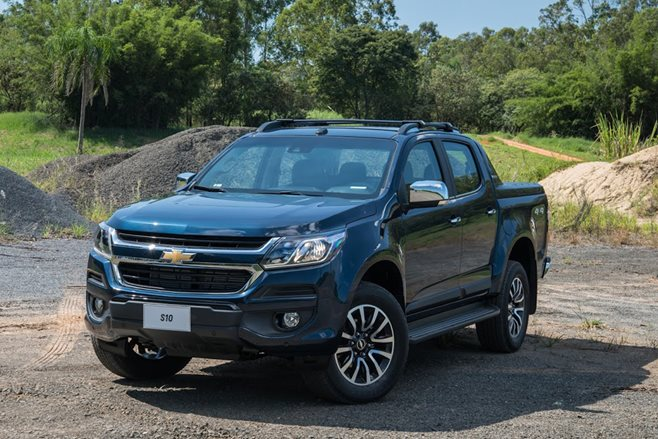The 2017 Chevrolet Colorado has been revealed in Brazil, providing an ...