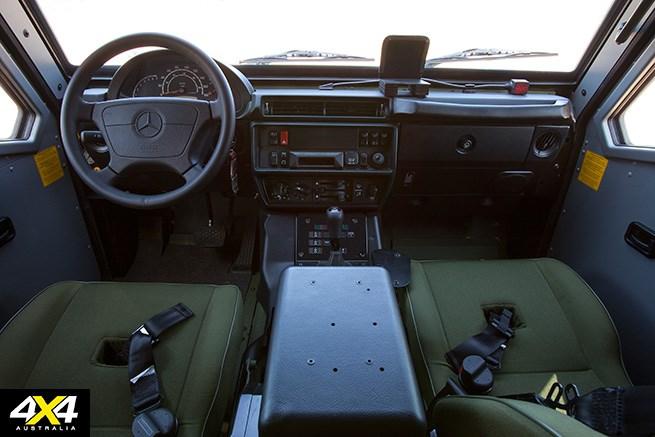 Military mercedes test drive image 6 4x4 australia for Mercedes benz g wagon lapv 6 x