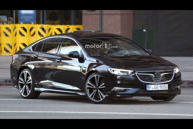 GM-owned Vauxhall introduces 2017 Insignia Grand Sport