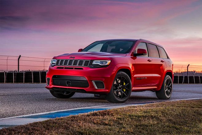 Hellcat-powered 2018 Jeep Grand Cherokee Trackhawk arrives with 707 horsepower