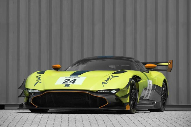 Aston Martin Vulcan gets an AMR upgrade