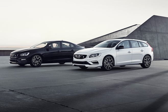 Volvo S60 and V60 Polestar Get Carbon Fiber and More Downforce