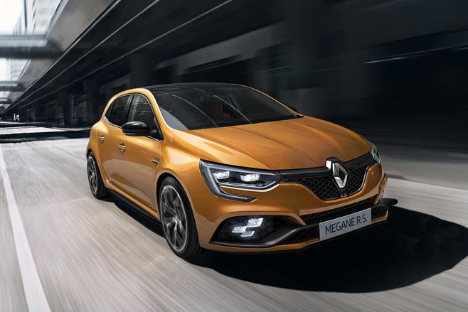 Renault unveils new Megane RS hot hatchback