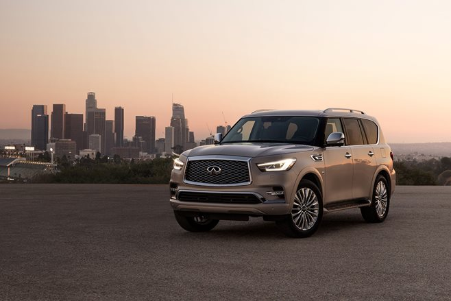 Infiniti QX80: New On The Outside, Familiar On The Inside