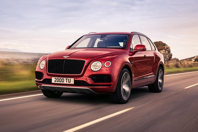 Bentley Bentayga Uses Aggression To Hide Smaller Engine