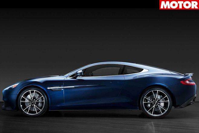 A Closer Look! Daniel Craig's Aston Martin Vanquish