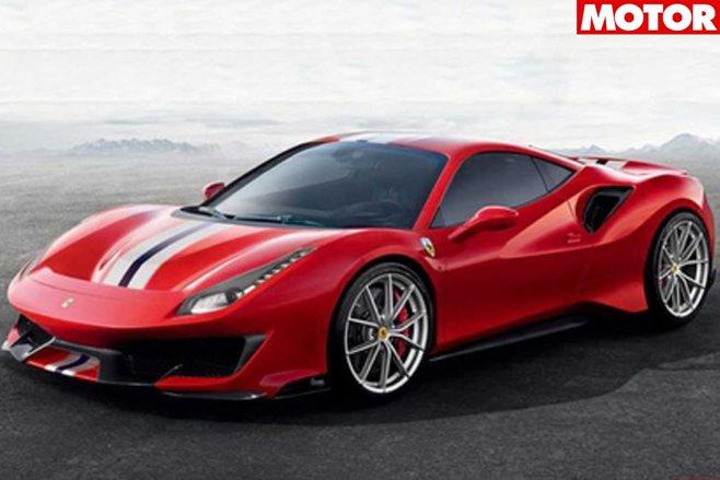 Ferrari 488 Pista Aperta Rendering Looks Spot On
