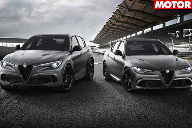 Sporty Alfa Romeo Giulia, Stelvio and 4C specials at Geneva