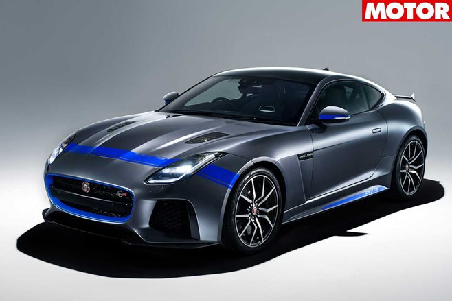 Jaguar F-Type SVR Graphic Pack arrives as new no-cost option