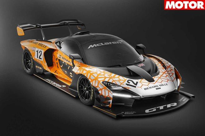 McLaren reveals new Senna GTR concept