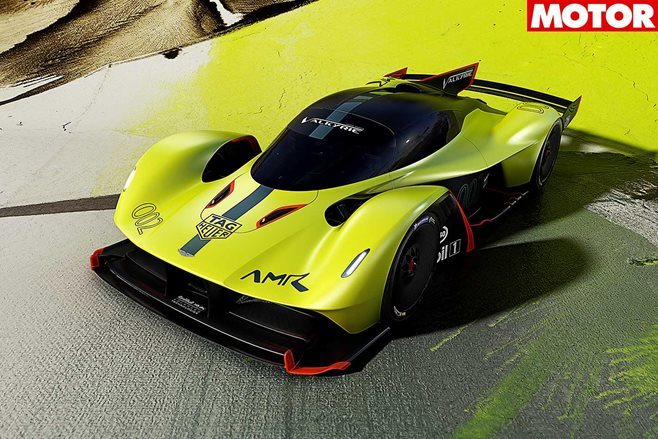 For The Track! Aston Martin Unleashes The Valkyrie AMR Pro