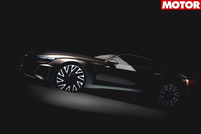 Audi e-tron GT, Kia K900, Runge sports cars