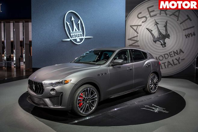 Maserati Levante Trofeo Packs A Ferrari-Made V8 With 590 HP