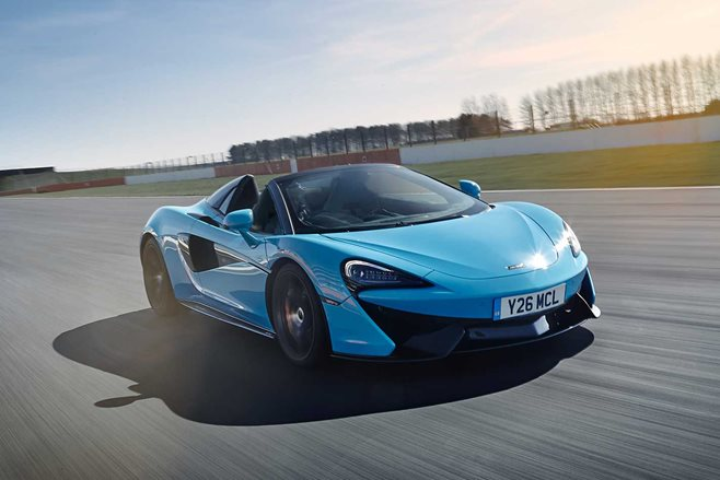 McLaren offers performance pack for 570S Spider
