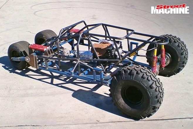 Aussie Blokes Build A Batmobile Tumbler 2 Street Machine