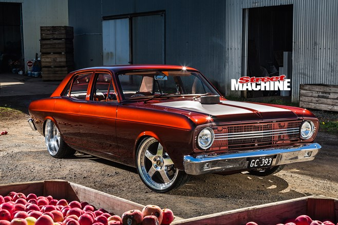 Grant Connor S Bad Apple 1967 Ford Xr Falcon Street Machine
