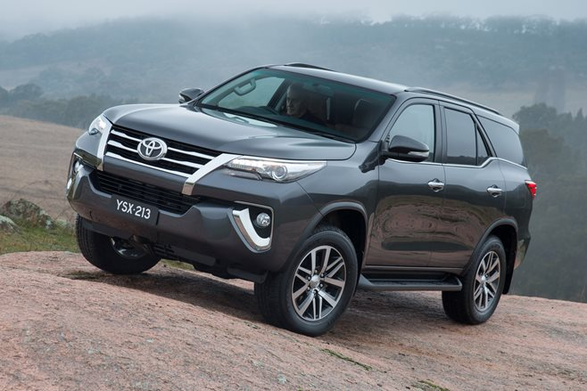 ... as the 7-seater Toyota Fortuner takes aim at Holden Colorado 7 and co